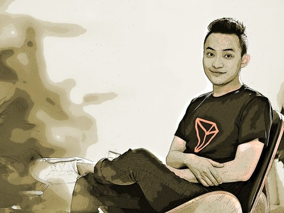 TRON CEO Justin Sun Feature Image