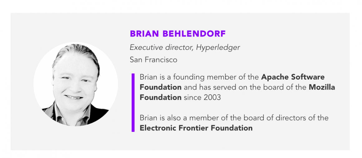Brian Behlendorf Hyperledger