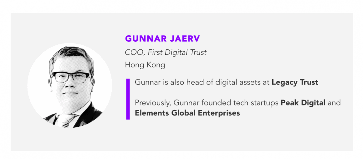 Gunnar Jaerv First Digital Trust