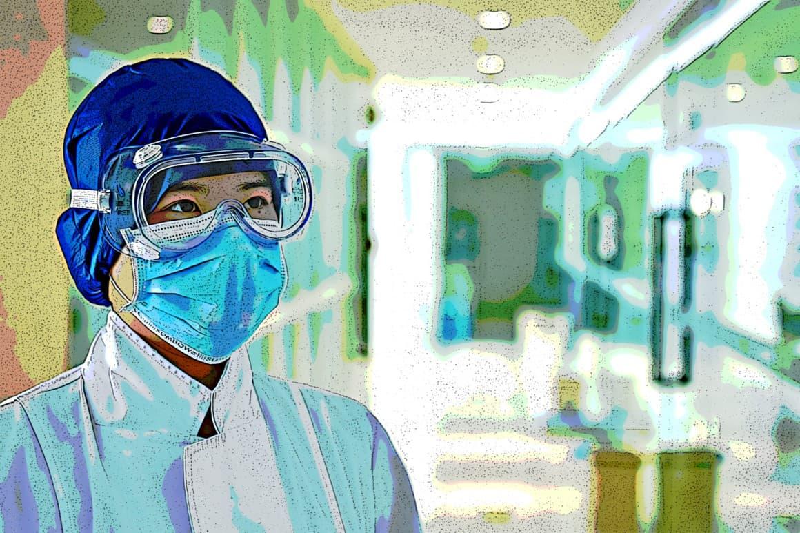 Coronavirus medical worker