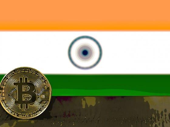 India flag bitcoin
