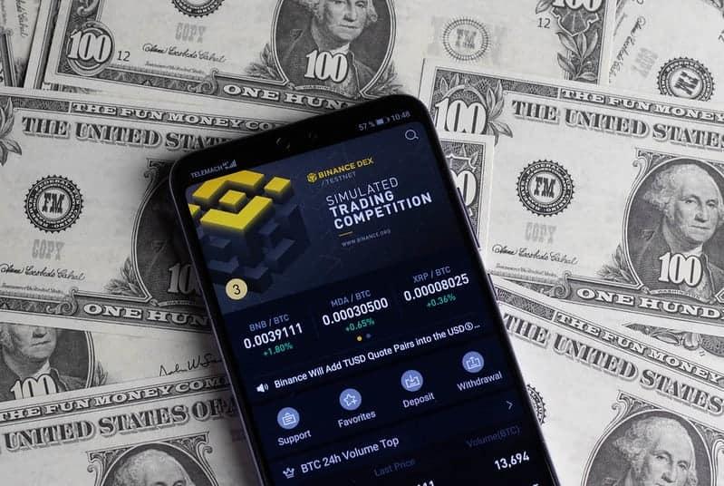 Binance, crypto exchange, money,derivatives, trade
