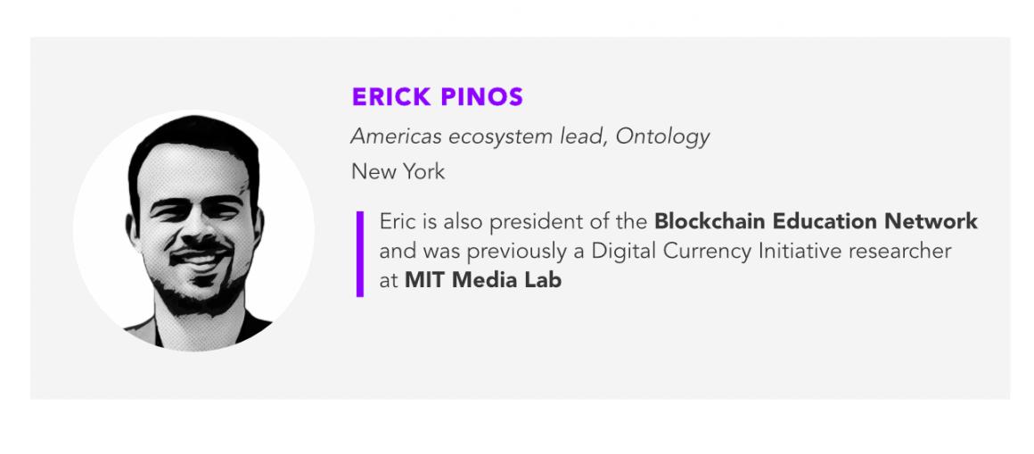Erick Pinos, Ontology