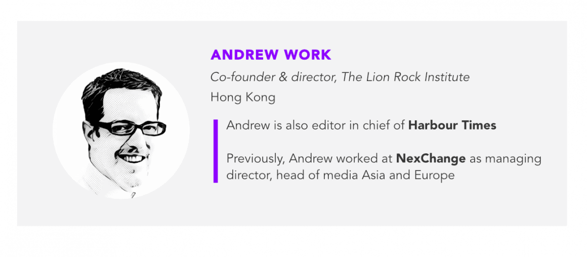 Andrew Work, The Lion Rock Institute