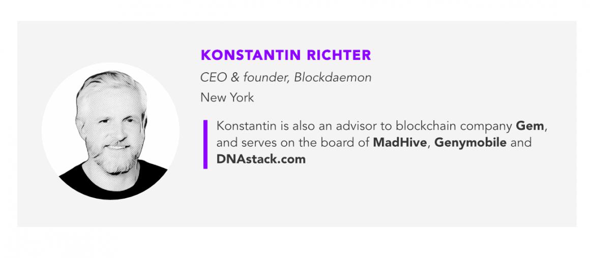 Konstantin Richter, blockdaemon
