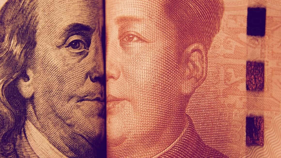 Tether, dollars, China, yuan