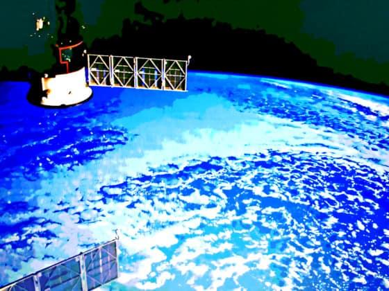 NASA, orbit, satellite, blockchain