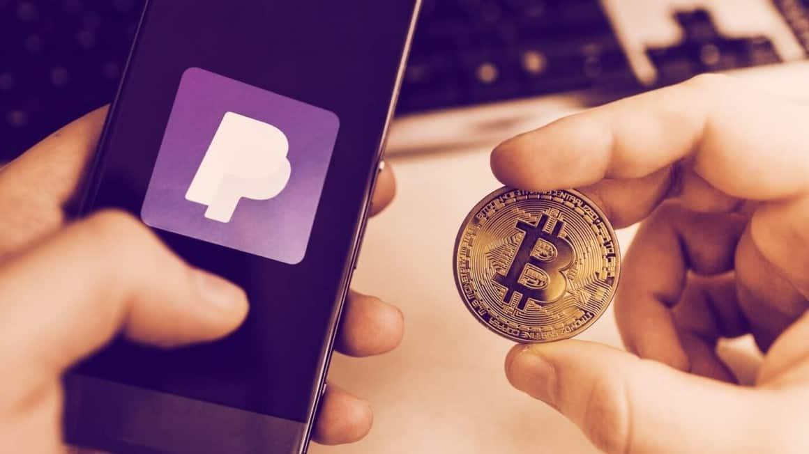 Paypal, bitflyer, crypto