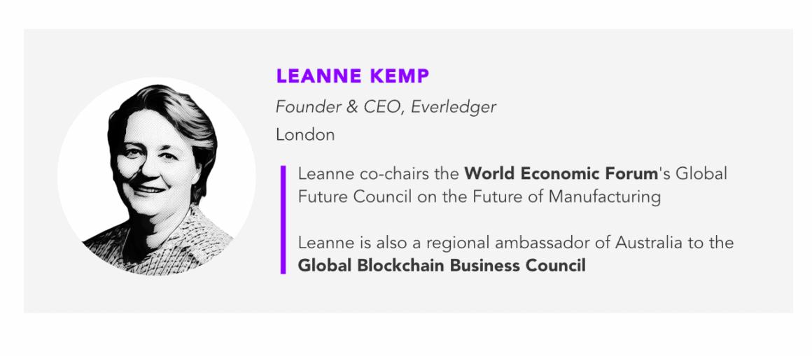 Leanne Kemp, everledger