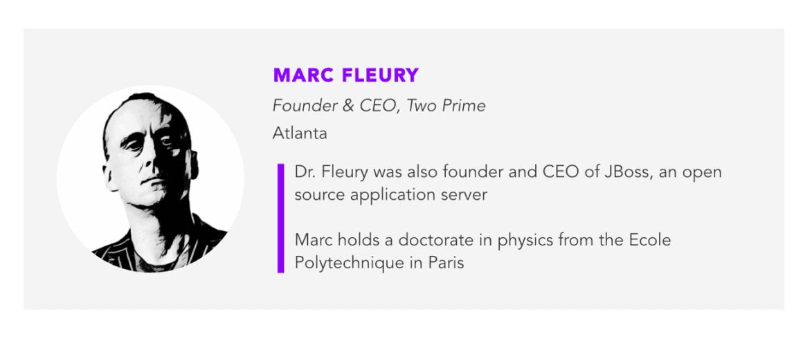 Marc Fleury, Two Prime