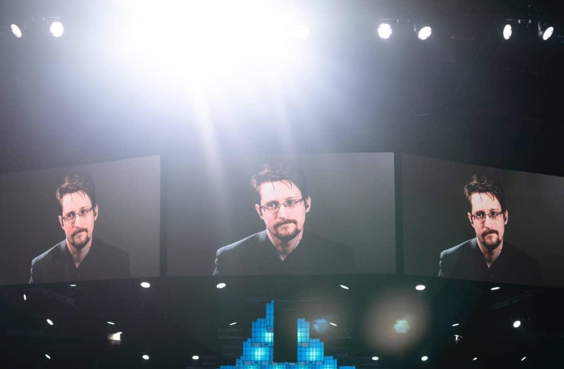 NSA whistleblower Edward Snowden at Websummit 2019