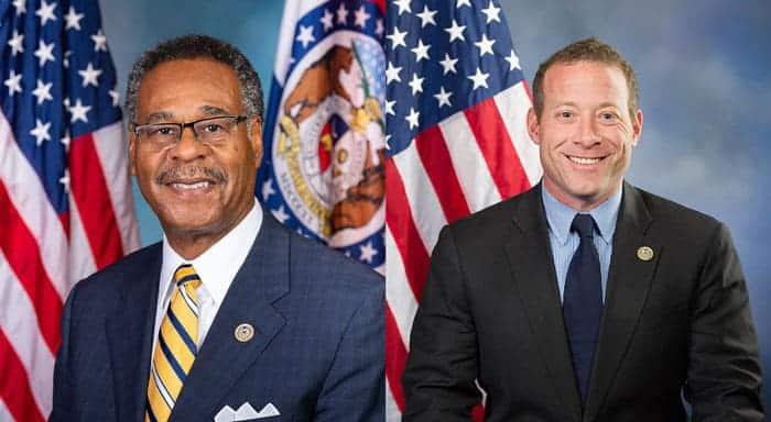 US representatives Emanuel Cleaver and Josh Gottheimer