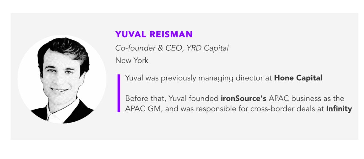 Yuval Reisman, YRD Capital