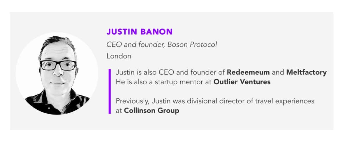 Justin Banon, Boson Protocol