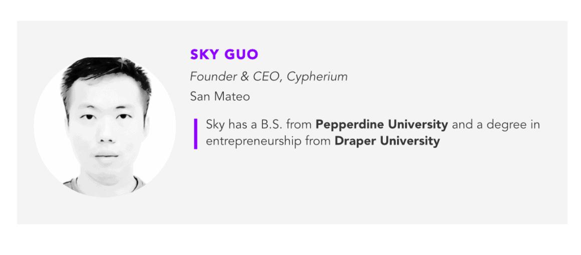 Sky Guo, Cypherium