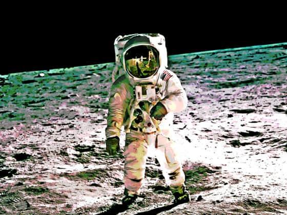 space, moon, astronaut