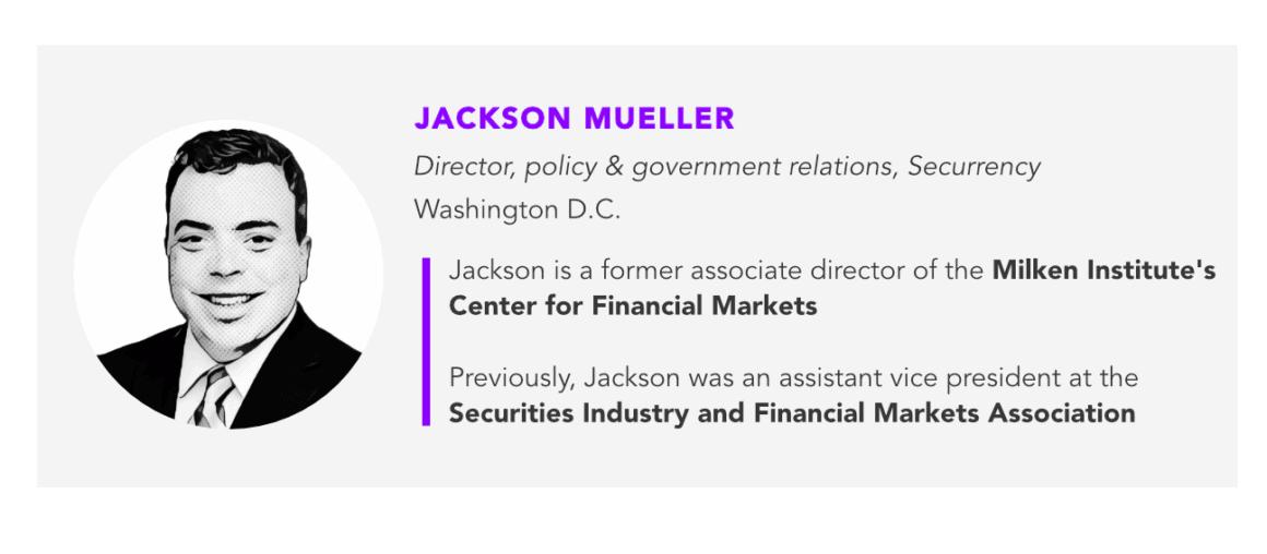 Jackson Mueller, Securrency