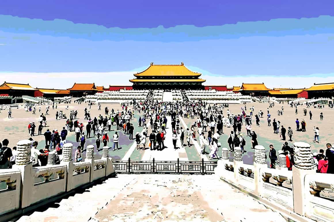 China, forbidden city, tourism