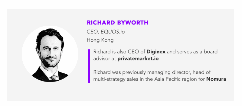Richard Byworth is the CEO of Diginex