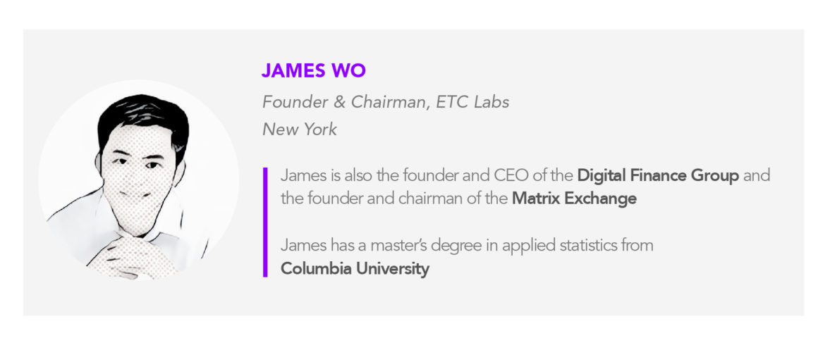 ETC Labs Founder & Chairman James Wo