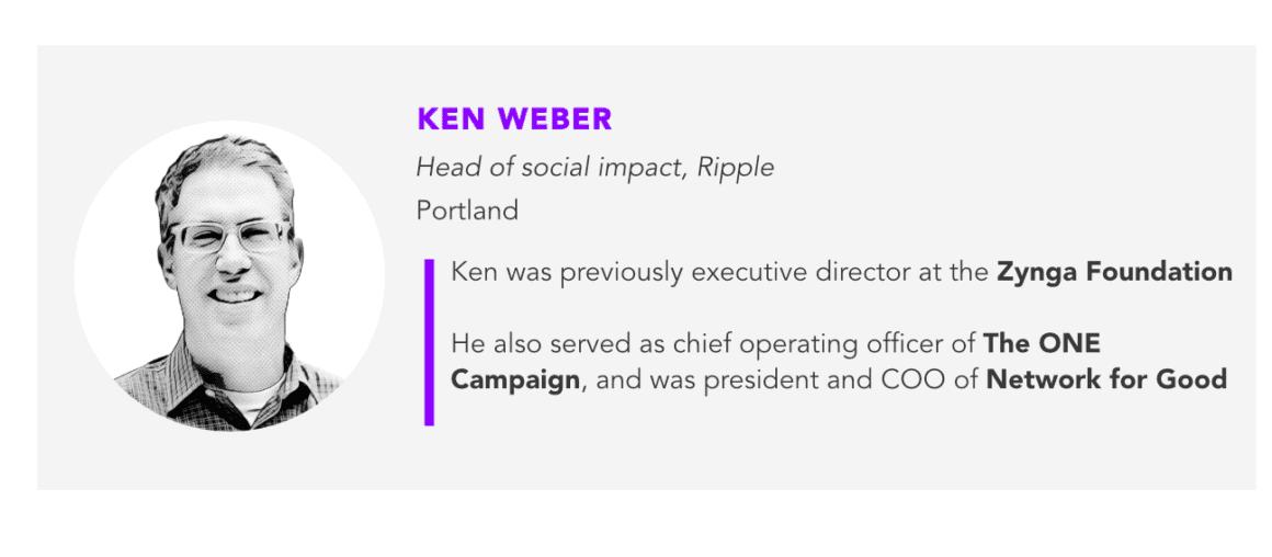 Ken Weber, Ripple