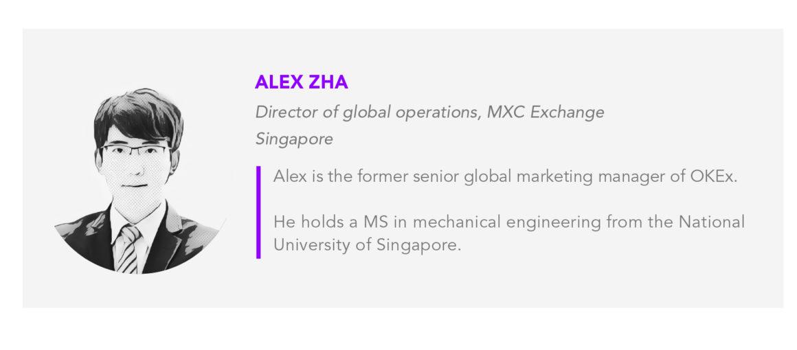 Alex Zha author card