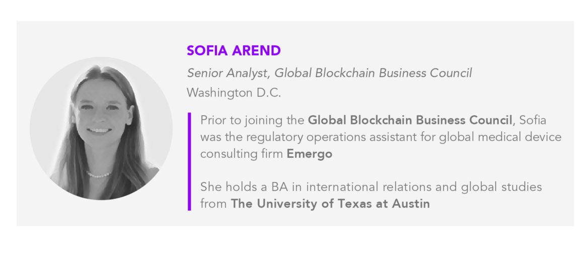 GBBC Senior Analyst Sofia Arend