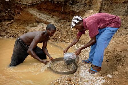 Diamond Mining In Kono 1