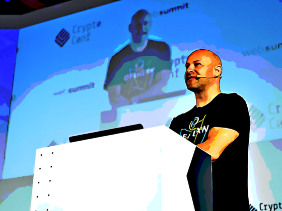 Joseph Lubin talks at Web Summit 2018