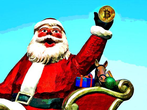 Santa Claus Christmas, crypto, bitcoin