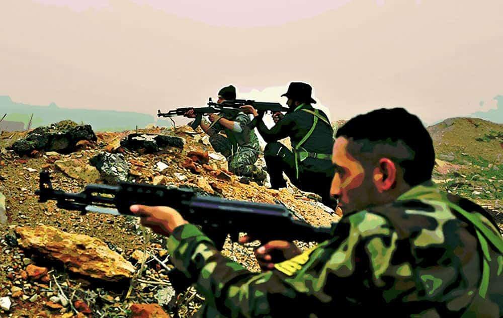 Syrian Civil War hedera hashgraph 1