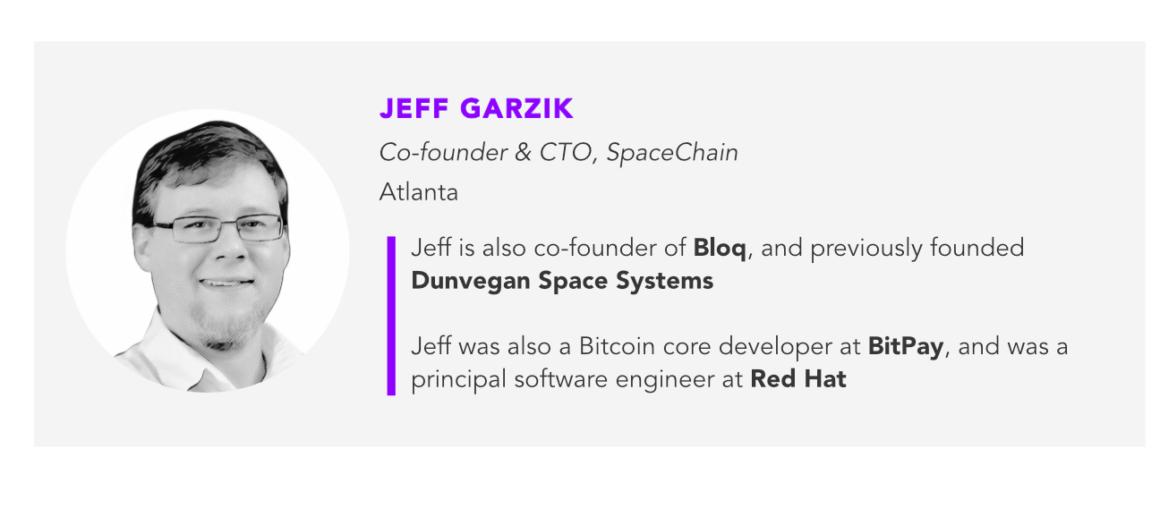Jeff Garzik, SpaceChain