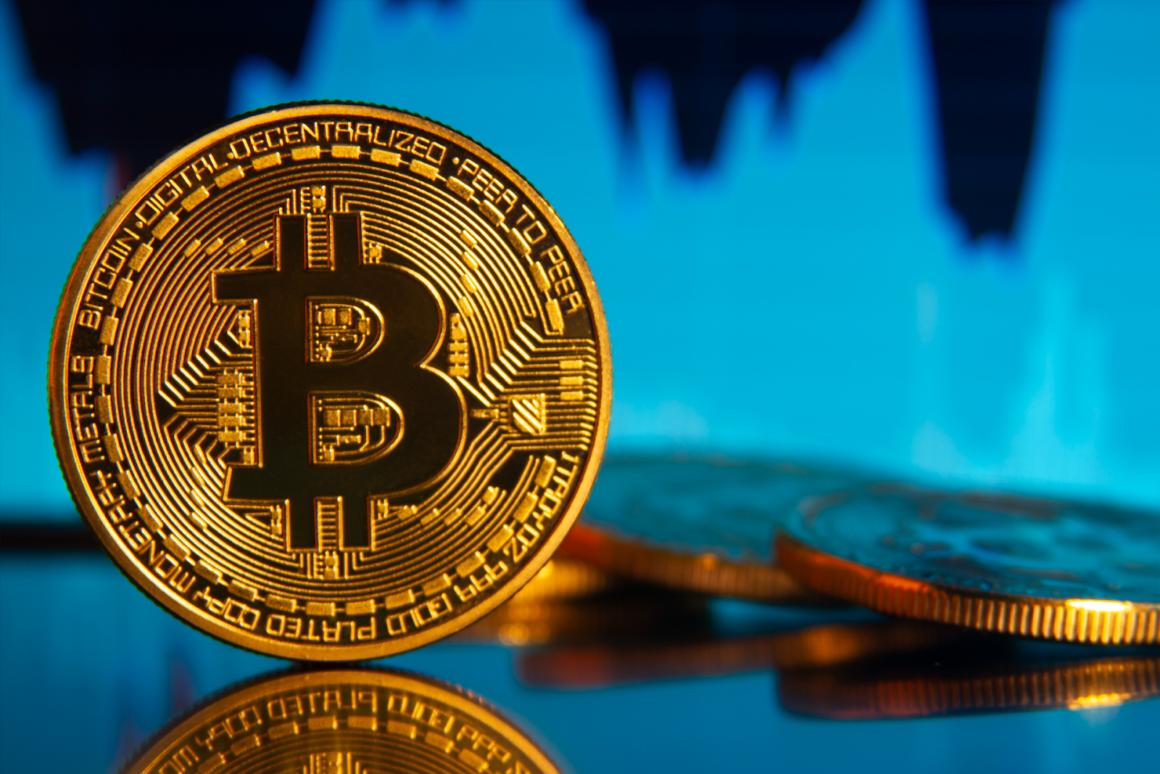 visualization of bitcoin