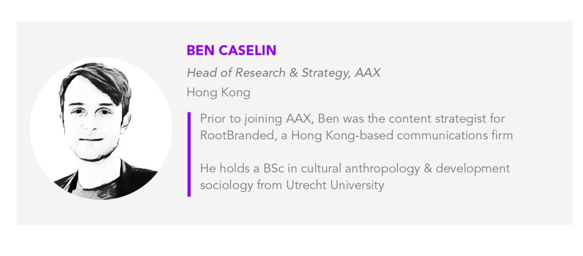 Ben Caselin AAX Head of Research & Strategy