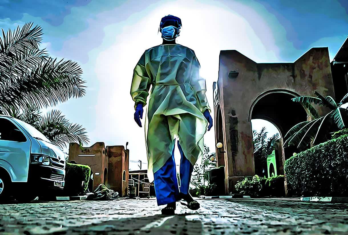 Blockchain Covid technology pandemic viral immunologist