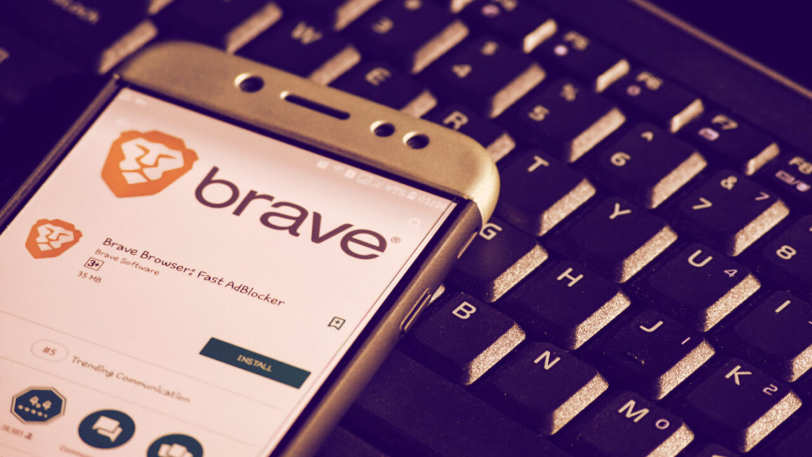 Brave browser as seen on Android
