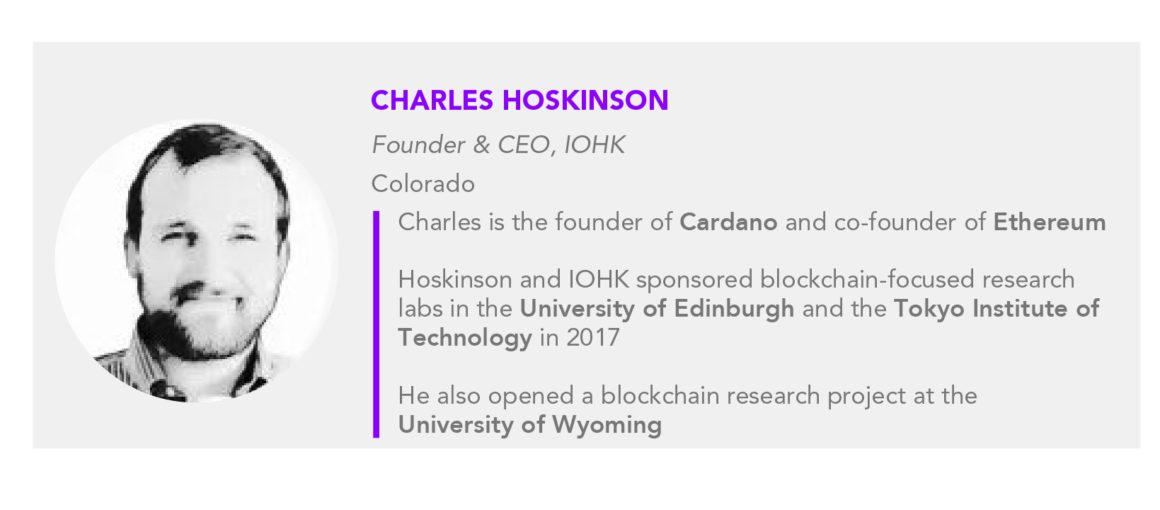 Charles Hoskinson IOHK CEO