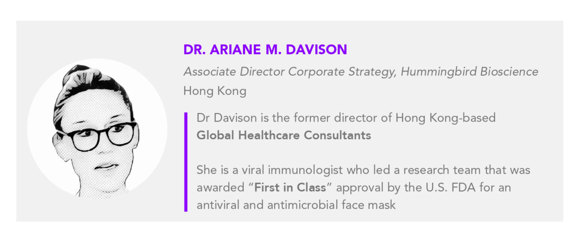 Dr Ariane Davison Author Card