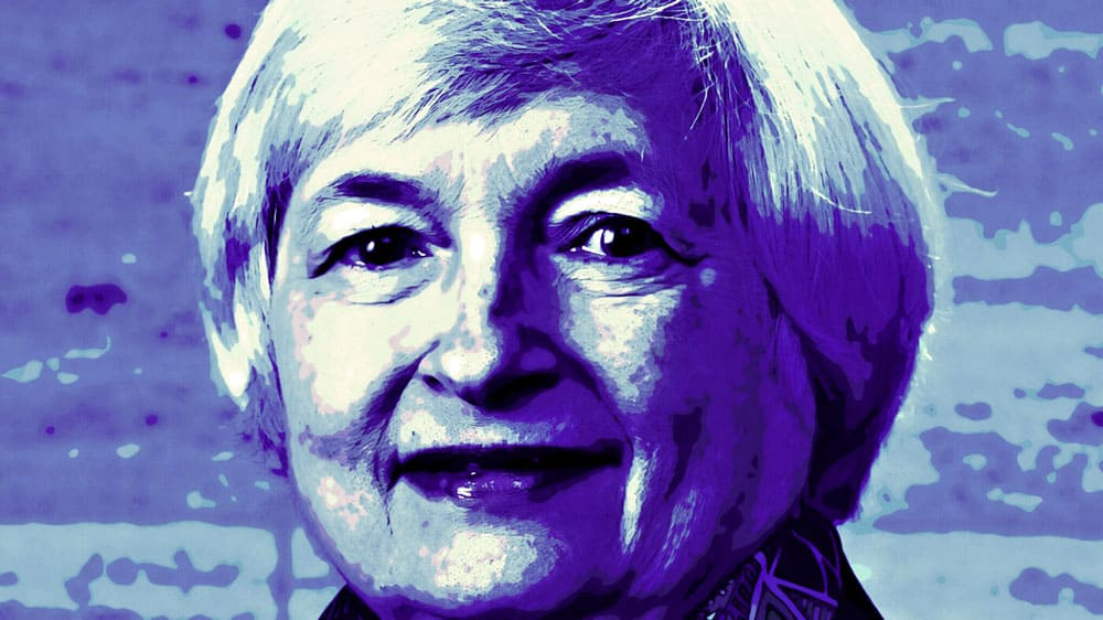 Janet Yellen official Federal Reserve crypto