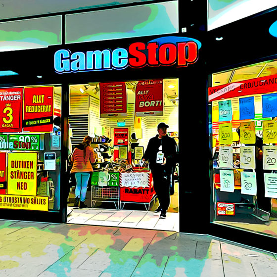 GameStop in Globen