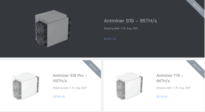 Antminer on Bitmain