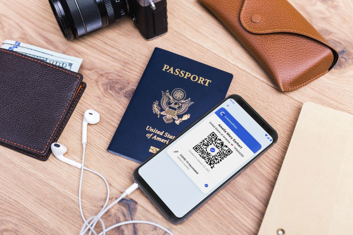 CommonPass app and passport