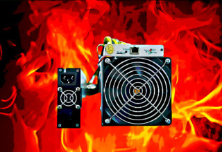 Mining rigs are hot