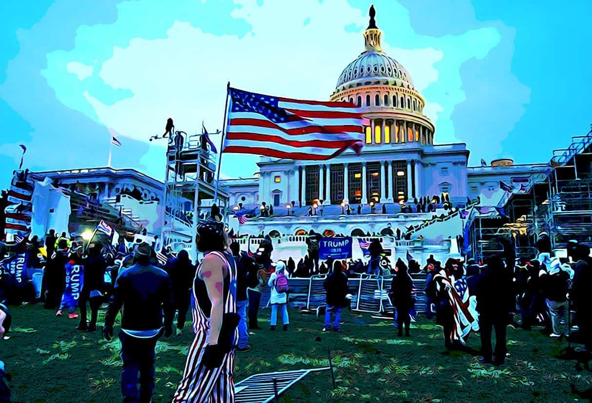 Storming US Capitol Tyler Merbler Wikimedia