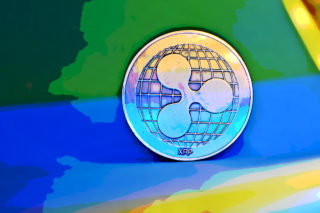 Visualization of Ripple's cryptocurrency XRP