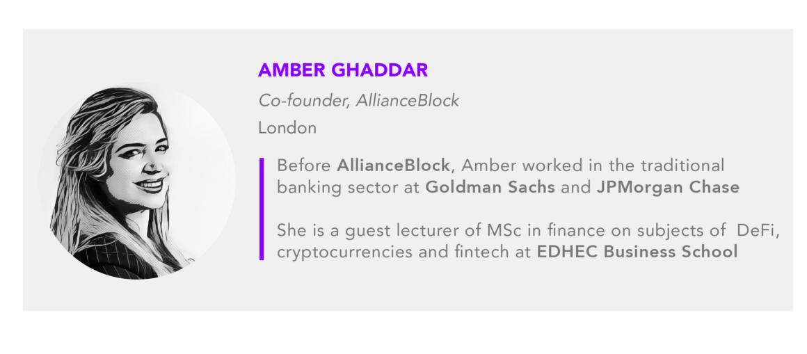 Amber Ghaddar AllianceBlock