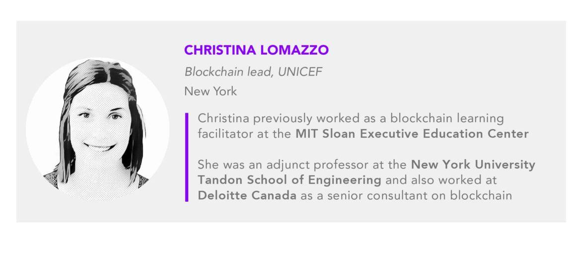 Christina Lomazzo UNICEF