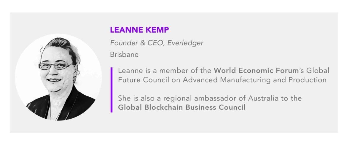 Leanne Kemp Everledger