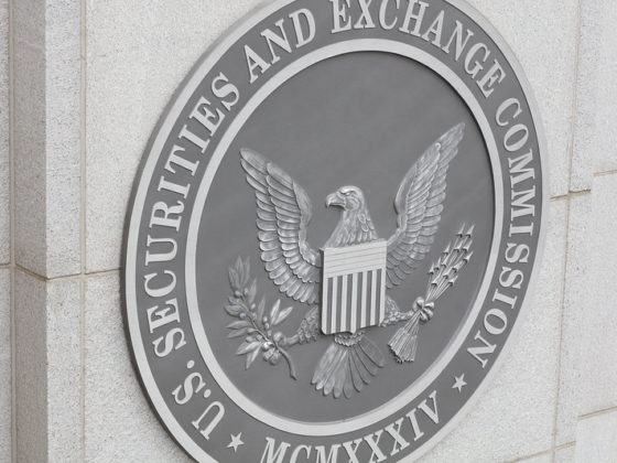 Securities and Exchange Commission seal on building as Ripple drama escalates