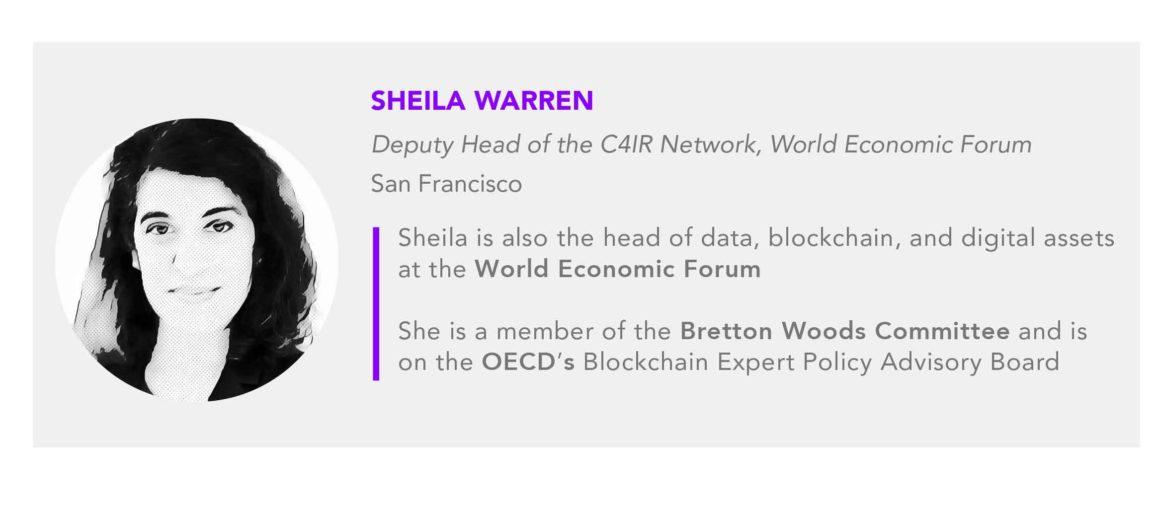 Sheila Warren WEF